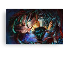 Sophia and Howl - Howl's Moving Castle Canvas Print