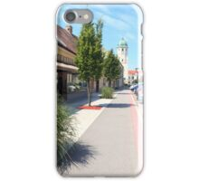 Fischamend in perspective iPhone Case/Skin
