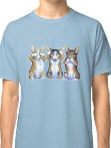Three Wise Corgis Classic T-Shirt