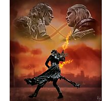 The Flame Will Protect Me Photographic Print