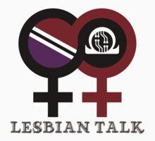 Lesbian Talk Logo (Classic) One Piece - Short Sleeve
