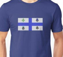 Montreal flag Quebec Unisex T-Shirt