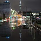 Auckland Cityscape Part II by earlcooknz
