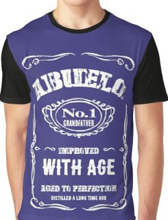Abuelo! Number One Grandfather Graphic T-Shirt