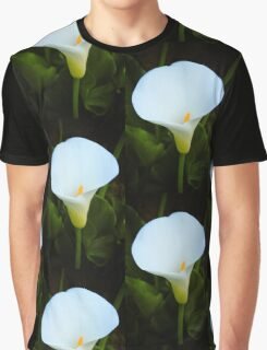 Single White Calla Lily Graphic T-Shirt