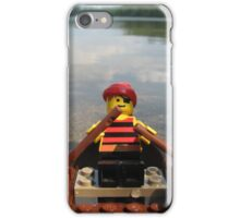 Away I Go To Places Unknown iPhone Case/Skin