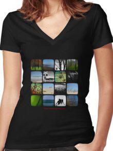 Kitsmumma Women's Fitted V-Neck T-Shirt