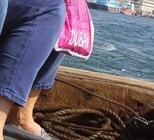 Water Taxi on Dubai Creek Sticker