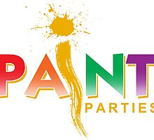iPaint Parties logo by EJTees