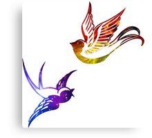 Astral Birds Canvas Print
