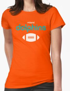 Miami Dolphins  Womens Fitted T-Shirt