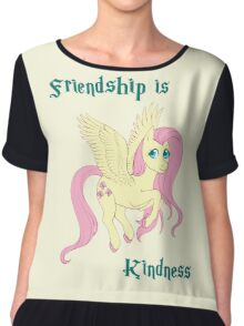 Friendship is Kindness Chiffon Top
