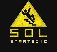 SOL STRATEGIC - FALLING MAN Unisex T-Shirt