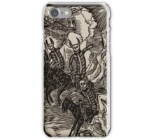 The four chupacabras of the apocalypse  iPhone Case/Skin