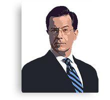 Stephen Colbert Canvas Print