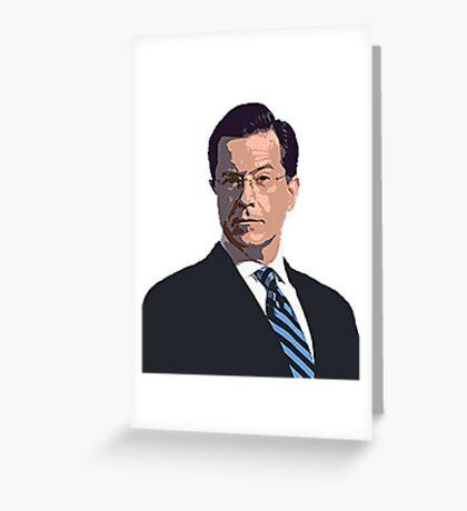 Stephen Colbert Greeting Card