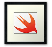 Swift Framed Print