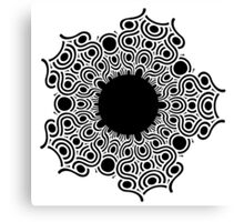 my beautiful black hole Canvas Print