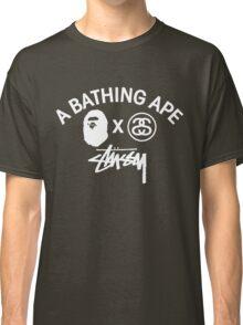 Bathing ape and Stussy!! Classic T-Shirt