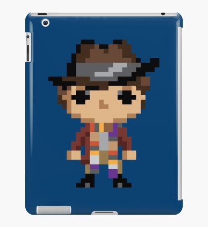 4th Doctor (8-bit) iPad Case/Skin