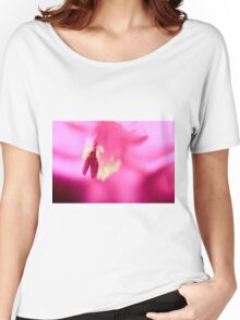 Christmas Cactus Close Up Women's Relaxed Fit T-Shirt