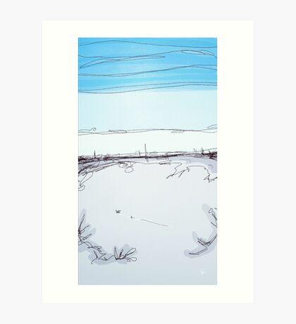 Lake Merritt Daytime Art Print