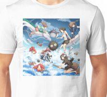 Studio Ghibili Family Unisex T-Shirt