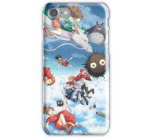 Studio Ghibili Family iPhone Case/Skin