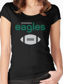 Philadelphia Eagles Women's Fitted Scoop T-Shirt