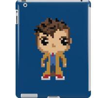 10th Doctor (8-bit) iPad Case/Skin
