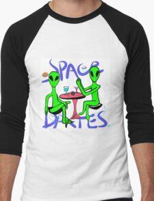Space dates Men's Baseball ¾ T-Shirt