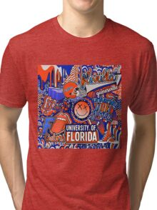 Florida Collage Tri-blend T-Shirt