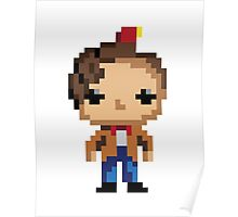 11th Doctor (8-bit) Poster