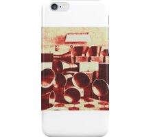 Speakers test vintage iPhone Case/Skin