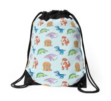 Dinosaurs Drawstring Bag