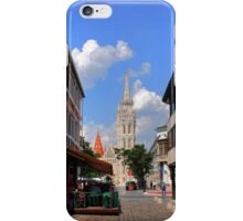 View of Matthias Church iPhone Case/Skin