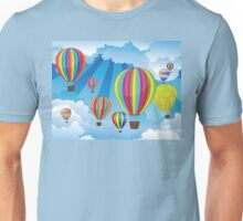 Air Balloons in the Sky 6 Unisex T-Shirt
