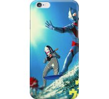 Surf Ultraman iPhone Case/Skin