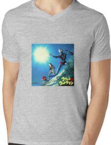 Surf Ultraman Mens V-Neck T-Shirt