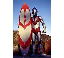 Surf Ultraman 1 Photographic Print