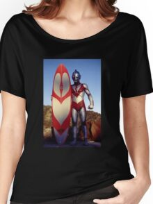 Surf Ultraman 1 Women's Relaxed Fit T-Shirt