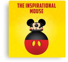BB8 Friends Series 1 - The Inspirational Mouse Canvas Print