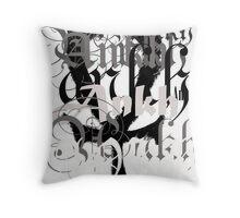 Urban Ankh Throw Pillow