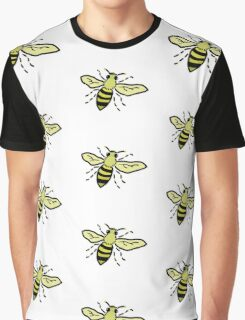 Friendly Bumble Bee Graphic T-Shirt