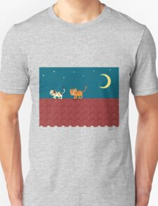 Cat on the roof T-Shirt