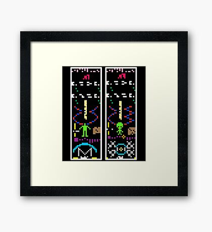 Texting With Aliens Framed Print