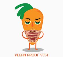 Vegan Proof Vest: Camron Carrot  Unisex T-Shirt