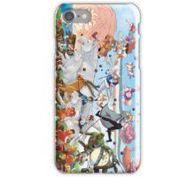 Studio Ghibli Family iPhone Case/Skin