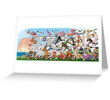 Studio Ghibli Family Greeting Card