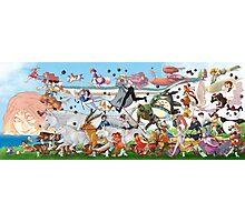 Studio Ghibli Family Photographic Print